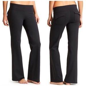 | Athleta | Fusion Yoga Activewear Pants [Black]